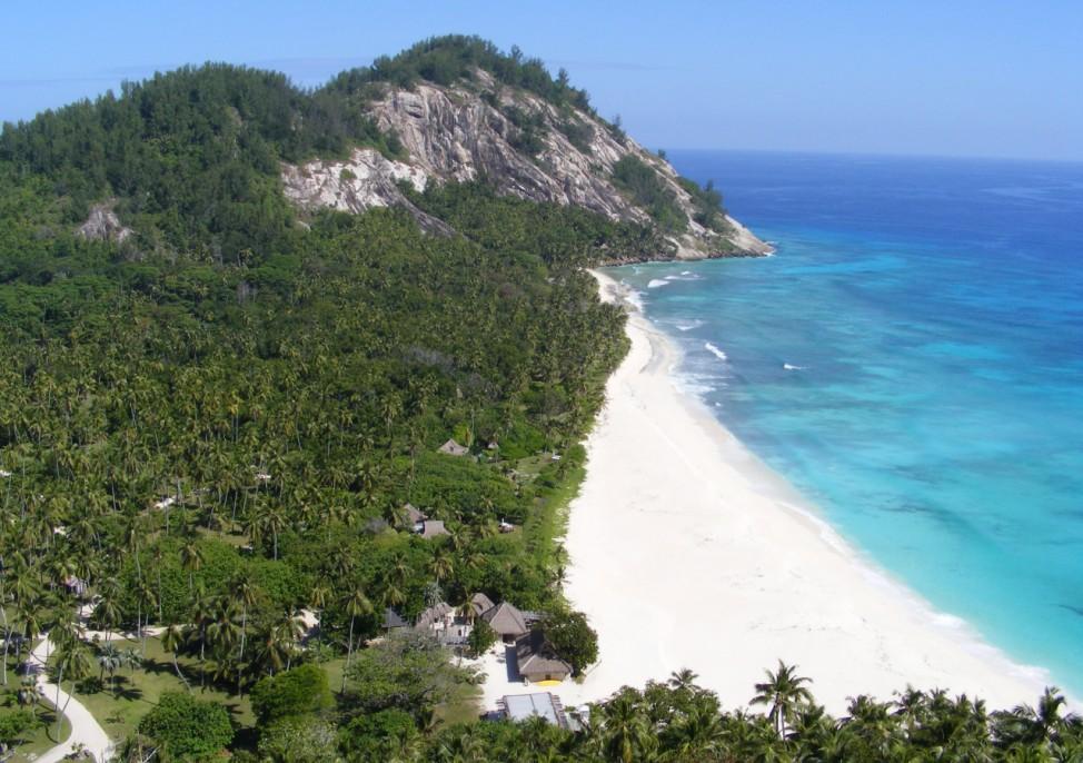 Seychellen North Island Nordinsel