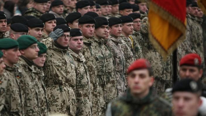 German Soldiers Deploy To Afghanistan