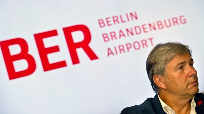 Klaus Wowereit Berliner Flughafen