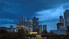 Skyline Frankfurt, dpa