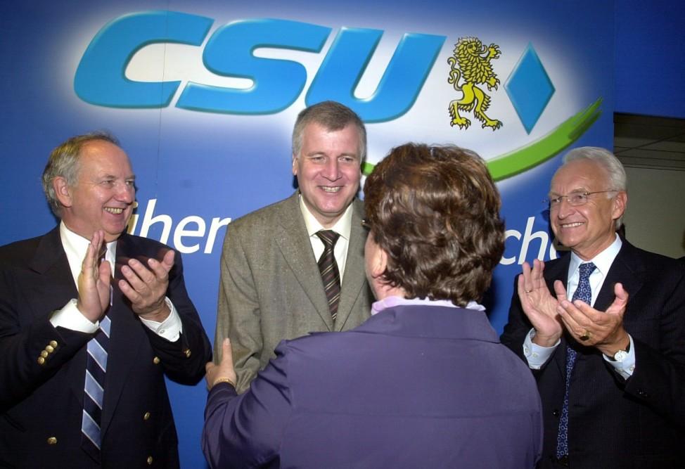 Rückkehr von Horst Seehofer in die Politik, 2002