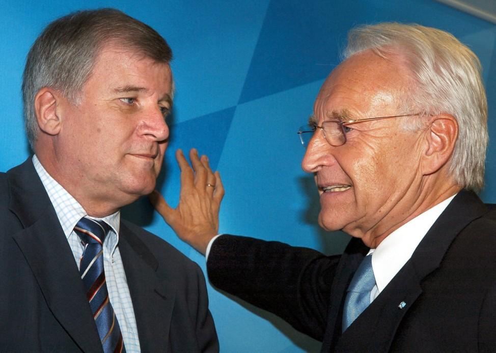 Horst Seehofer und Edmund Stoiber, 2004