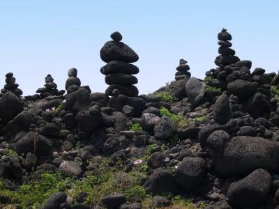 Landschaft in Jeju, Hauptstadt der südekoreanischen Inselprovinz Jeju-do