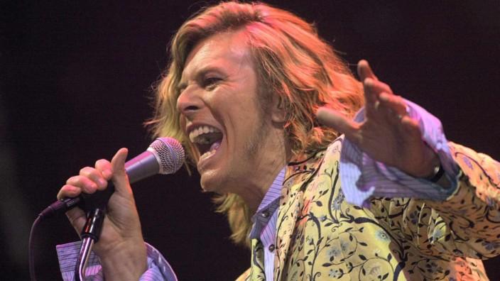David Bowie beim Glastonbury Festival