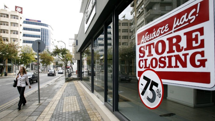 Cyprus economy in recession