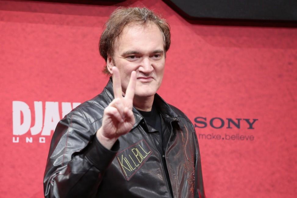 Tarantino, 'Django Unchained' Berlin Premiere