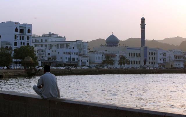 Hafen von Maskat in Oman
