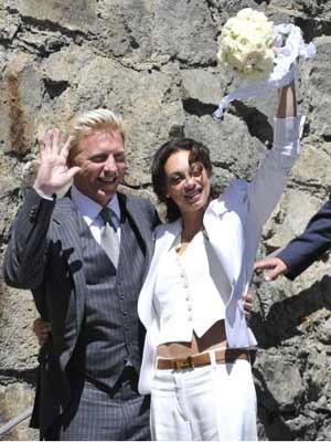 Boris Becker, Lilly Kerssenberg, ddp