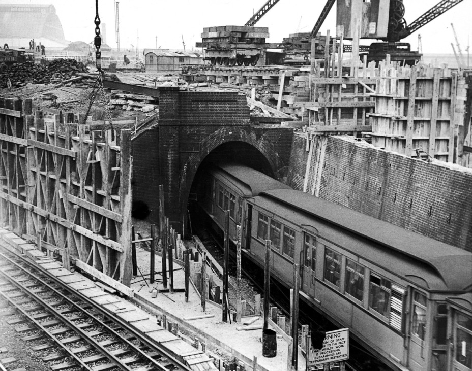 FILE PHOTO - 150 Years Since First Section Of London Underground Opened: A Look Back