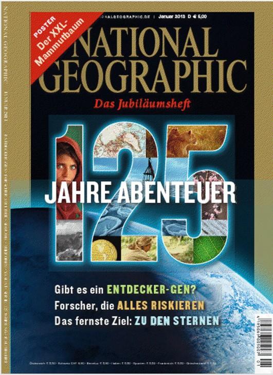 National Geographic, Titelbild der Ausgabe Januar 2013