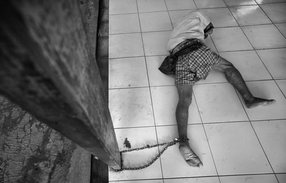 Psychisch kranke Gefangene in Indonesien, National Geographic Photo Contest 2012