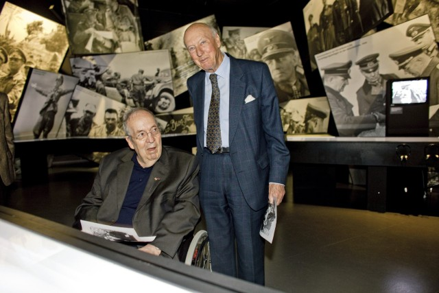 Treffen der Söhne der Generäle Rommel und Montgomery