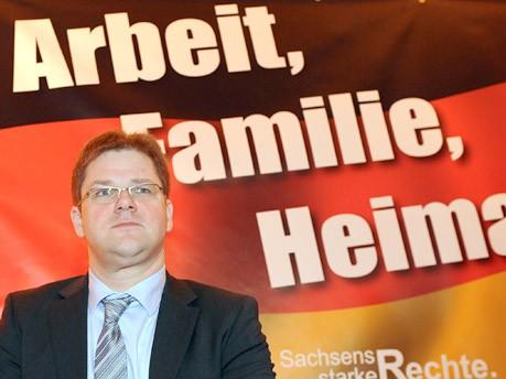 Holger Apfel, dpa
