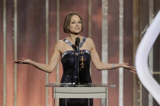 Jodie Foster, Golden Globe, Homosexualität