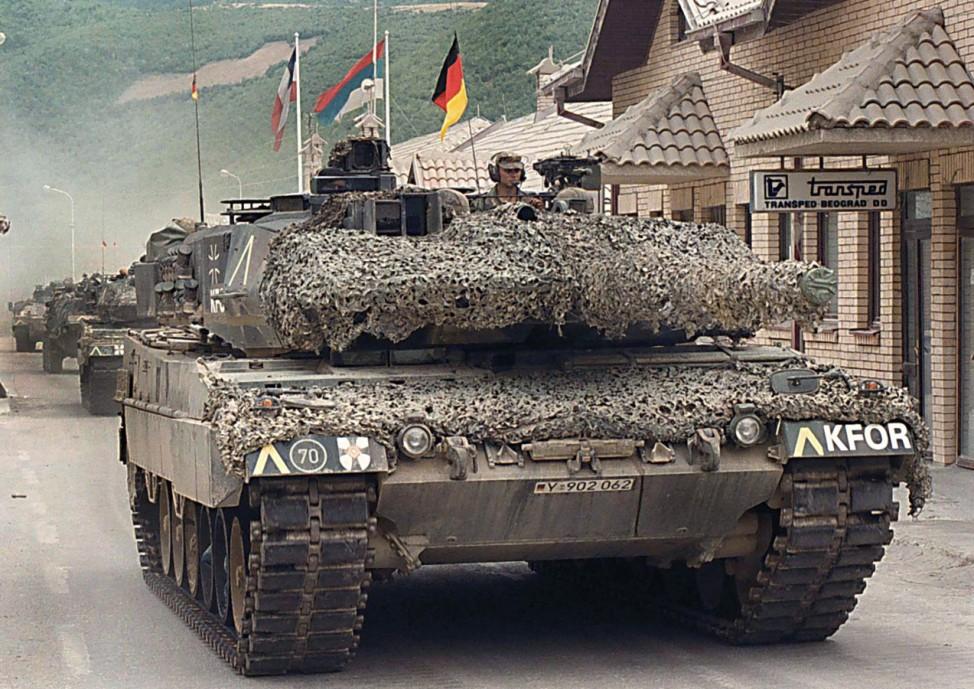 60 Jahre Bundesrepublik - Bundeswehreinsatz im Kosovo