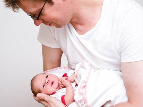 Vater, Kind, Baby, iStockphotos