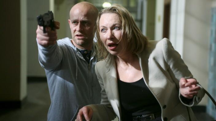 """Theresa Hämer und Jürgen Vogel im ZDF-Film """"Tod einer Polizistin"""""""