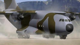Airbus A400M, AFP