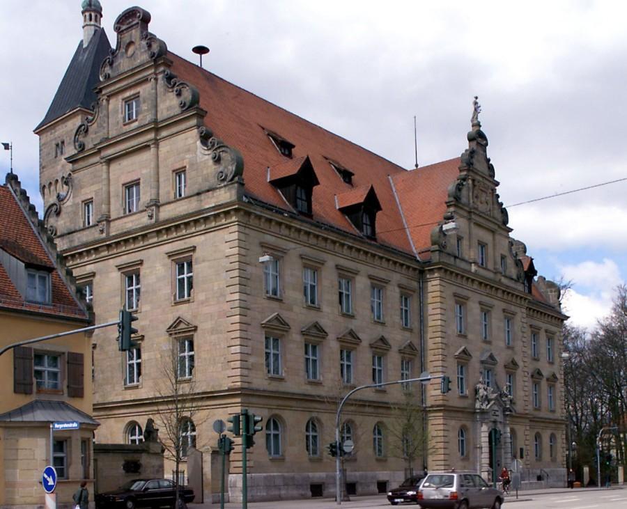 JUSTIZPALAST IN REGENSBURG