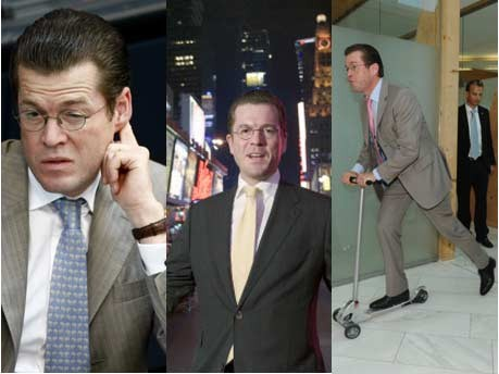 Guttenberg, Wirtschaftsminister, ddp, Reuters, dpa