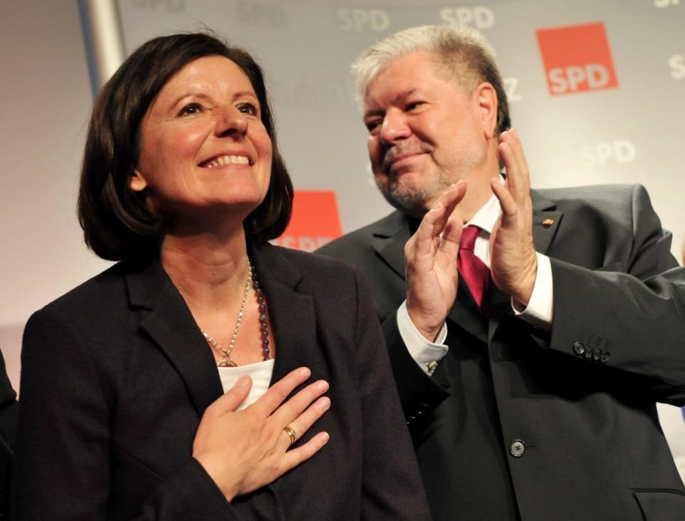 Malu Dreyer und Kurt Beck