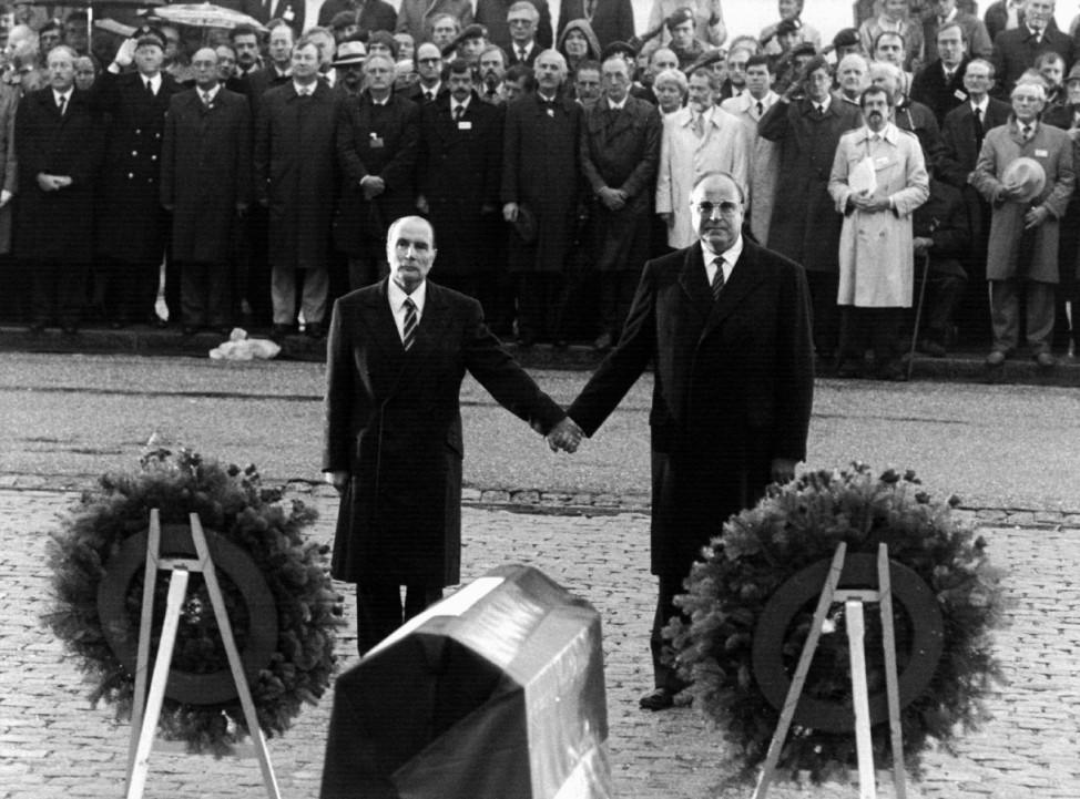 Verdun - Kohl und Mitterrand