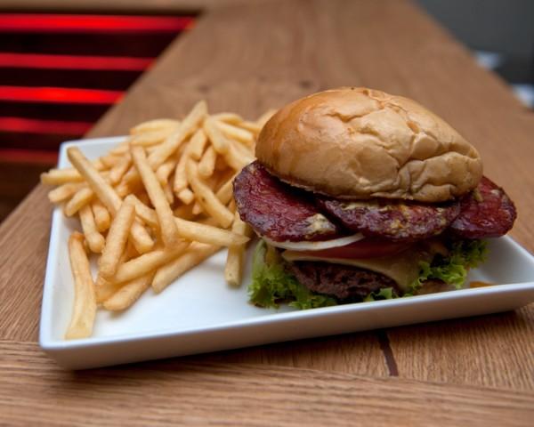 Burger House Chorizo Burger PR-Bild