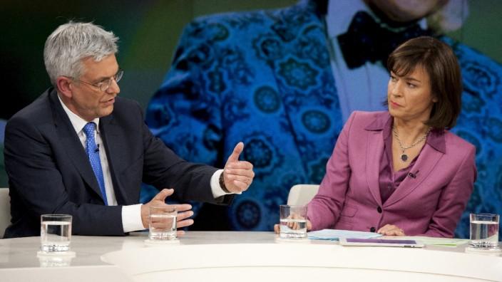 ZDF-Intendant Thomas Bellut bei Maybrit Illner