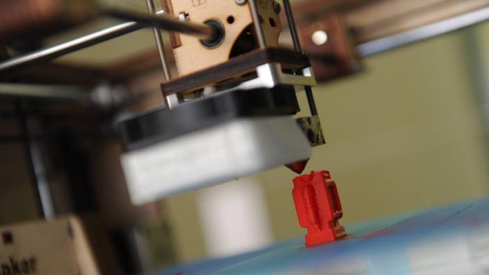 DLD Konferenz 2013 - 3D-Printer