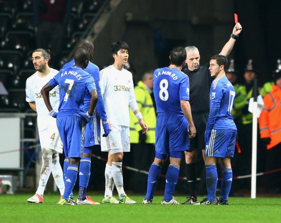 Swansea City v Chelsea - Capital One Cup Semi-Final Second Leg