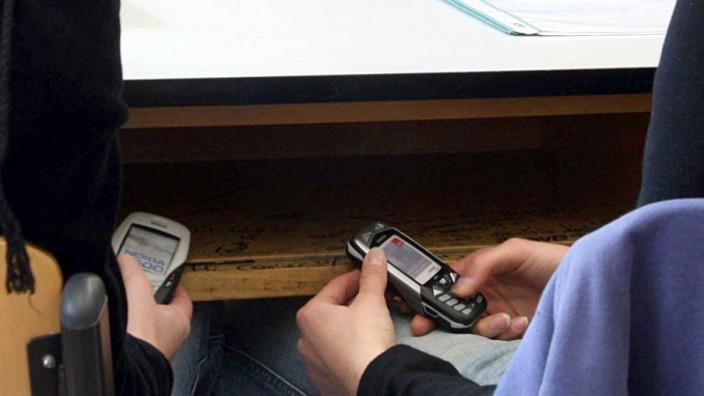 Telefonieren im Unterricht