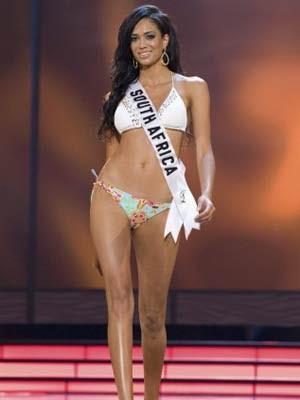 Tatum Keshwar, Miss South Africa 2009, Reuters