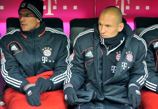 Gomez und Robben
