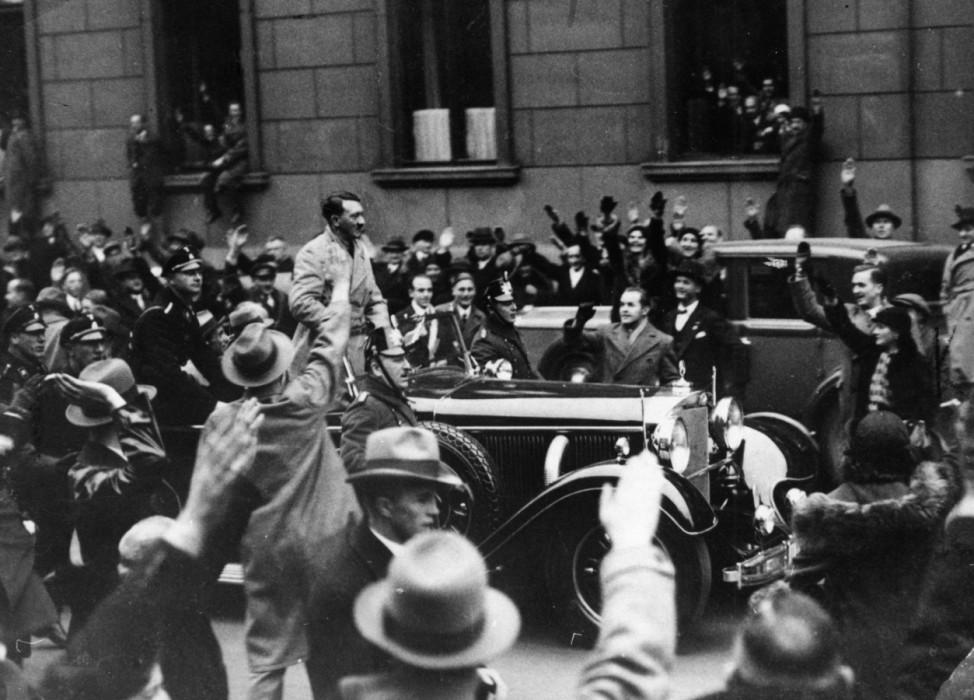 Machtergreifung der Nationalsozialisten, 1933 Hitler SZ Photo