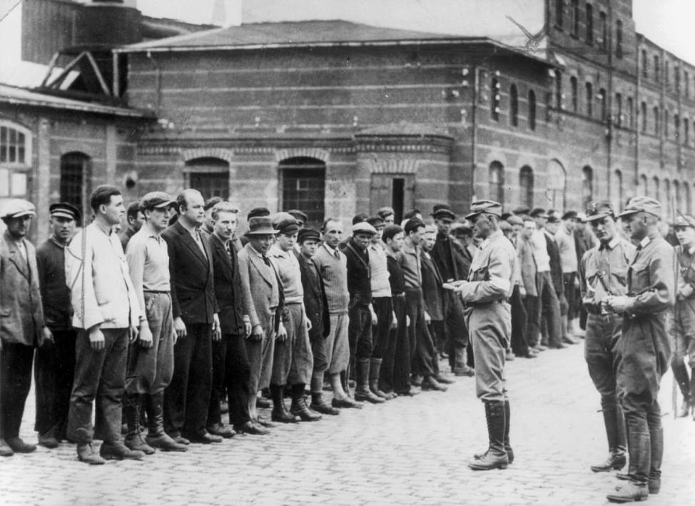 Appell im KZ Oranienburg, 1933 SZ Photo