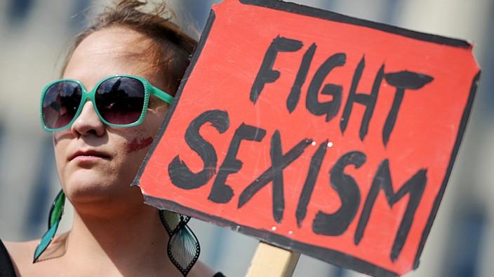 Protest gegen Sexismus und Belästigung
