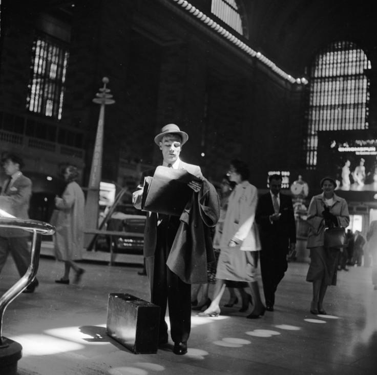 Reisender Grand Central Station New York