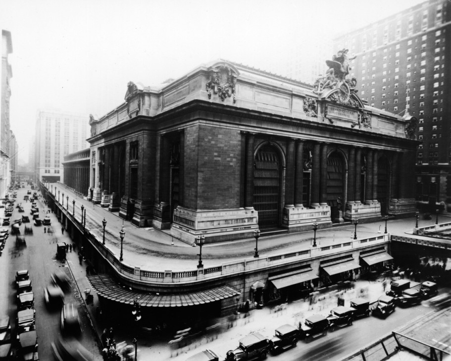 Grand Central Station New York 1920