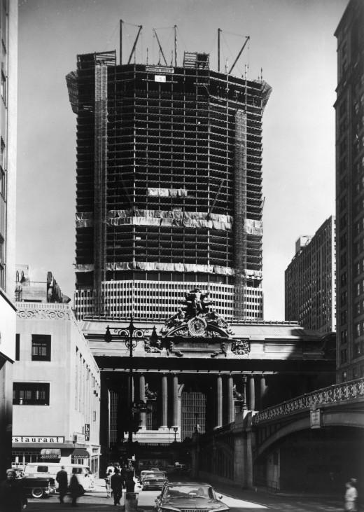 Pan Am Building oder MetLife Building Grand Central Station New York 1960er