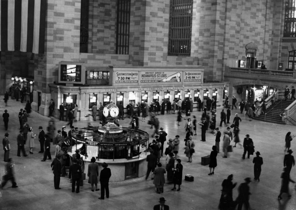 Grand Central Station New York 1946