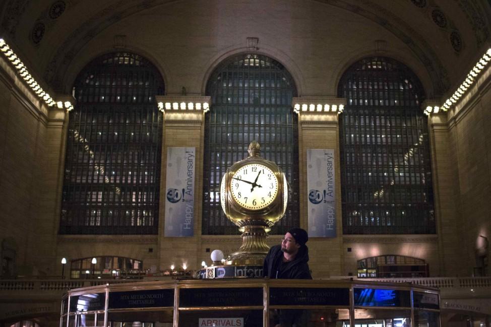 Grand Central Station New York Uhr