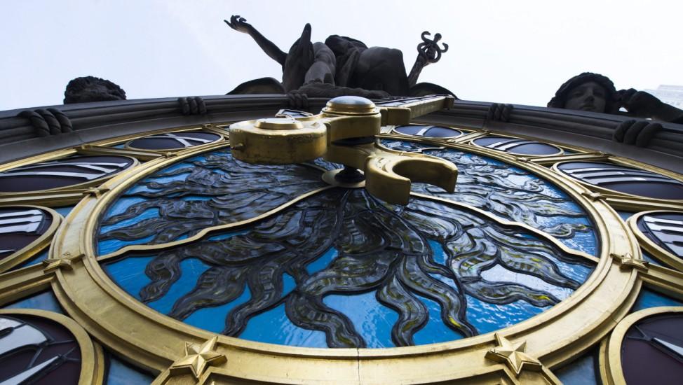 Tiffany-Uhr Grand Central Station New York