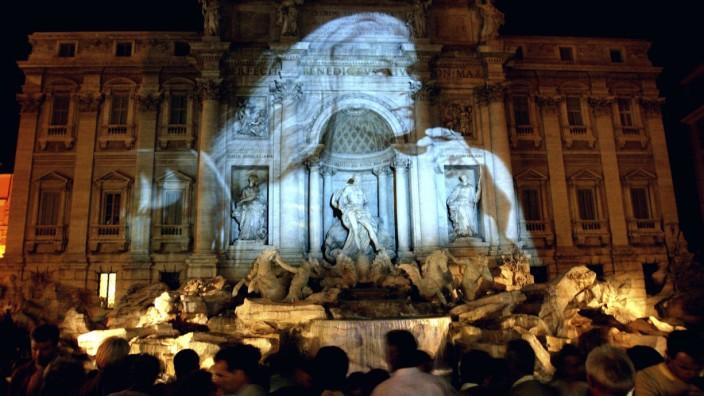 Italien Brunnen Fendi