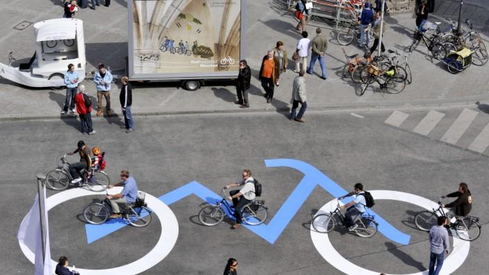 Fahrradkampagne 'Radlhauptstadt München', 2010