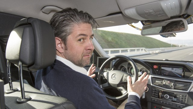 Mercedes, Mercedes E-Klasse, Autonomes Fahren