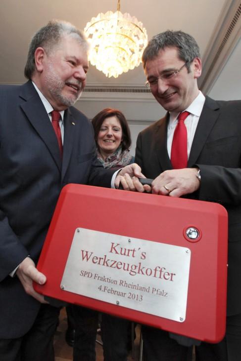 SPD-Landtagsfraktion verabschiedet Beck