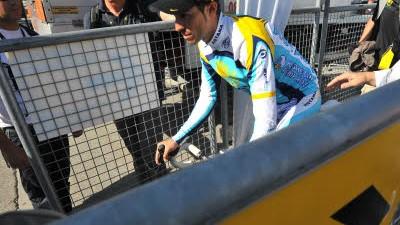 Tour de France 2009: Tour-Sieger Alberto Contador hat eine Dopingprobe hinter sich gebracht.
