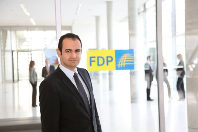 Bijan Djir-Sarai, MdB, FDP Plagiatsverdacht Foto: Graca & Darius Bialojan