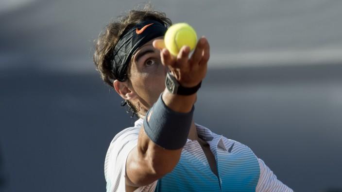 Tennis: Rafael Nadal: nach sieben Monaten wieder auf dem Platz.