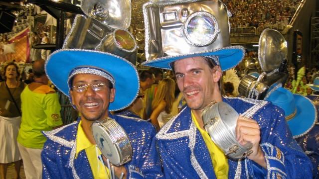 Chris Quade Couto Trommler Rio Karneval
